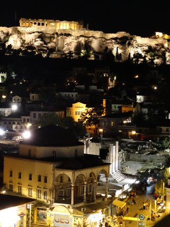 A for Athens : Acropolis view