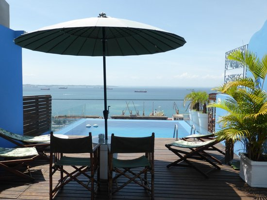 Aram Yami Hotel : Pool view from the Bahia Suite