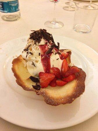 Favria, Italia: Il celebre gelato