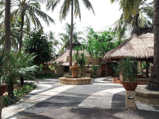 Novotel Lombok: common area