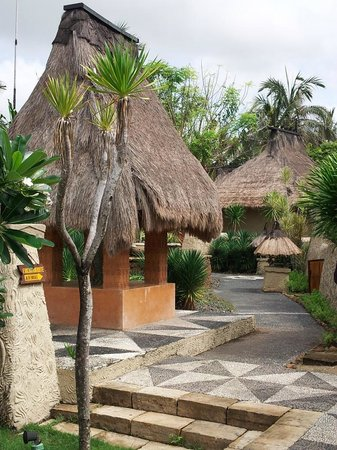 Novotel Lombok : the gazebo
