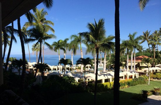 Four Seasons Resort Maui at Wailea : View from lobby/lounge