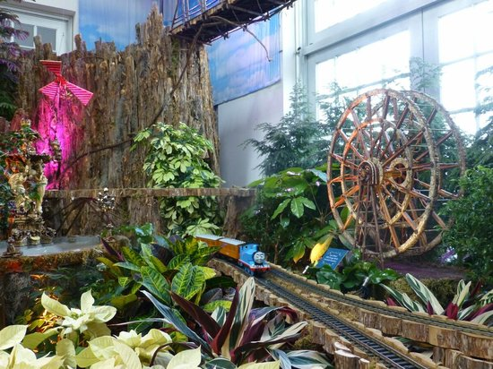 United States Botanic Garden: Chicago World's Fair Ferris Wheel