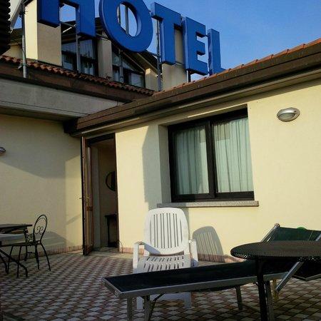 Hotel Da Vito: Terrace