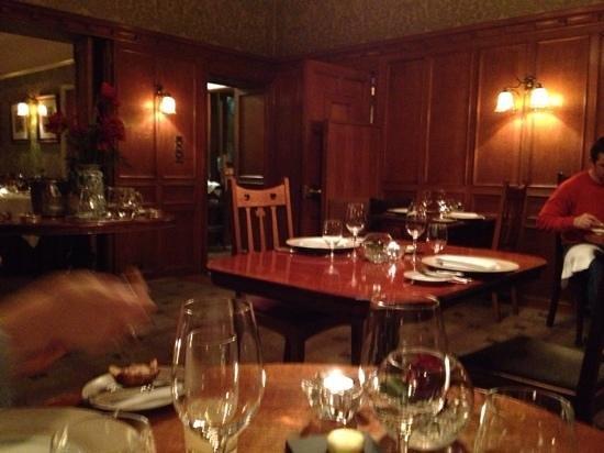 Holbeck Ghyll dinner restaurant, Windermere.