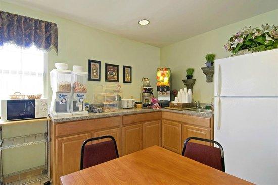 Americas Best Value Inn and Suites Little Rock/Bryant : Breakfast Area