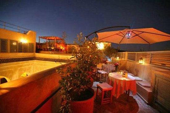 Riad Misria : Terrasse