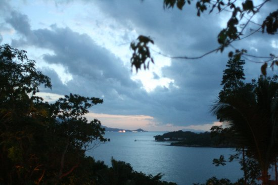 Six Senses Samui: Vistas desde el bar (Drinks on the Hill)