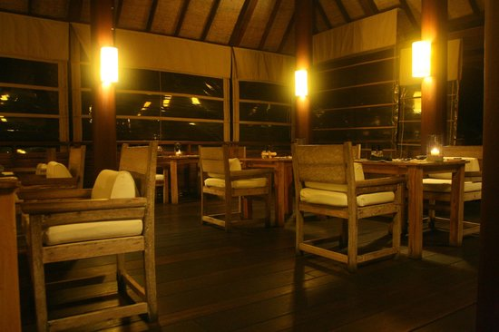 Six Senses Samui: Vista del restaurante (Dinnig on the Hill)