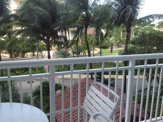 Marriott's Aruba Surf Club: Lighthouse, rm 6304, not Ocean Side, from slider.