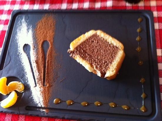 Creperie Les Sans Culottes: charlotte chocolat