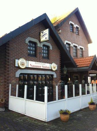 Nassauer Stuben: The exterior of the restaurant