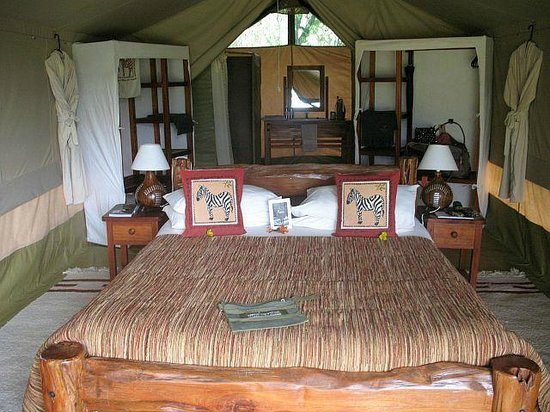 Kicheche Mara Camp: Interior of tent
