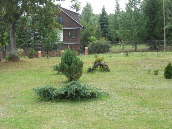 Szpak Lodge : trawnik