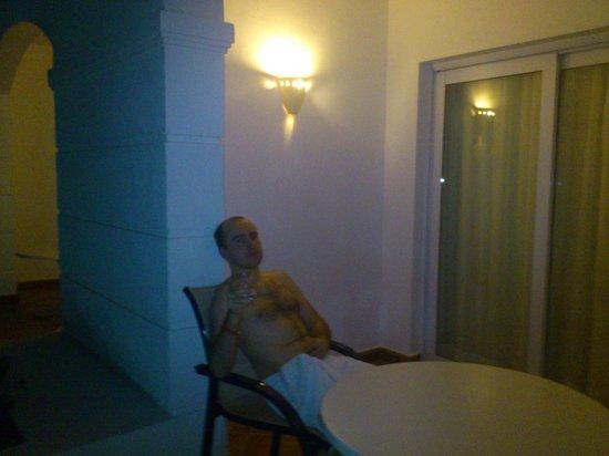 Hilton Sharm Dreams Resort : балкончик номера