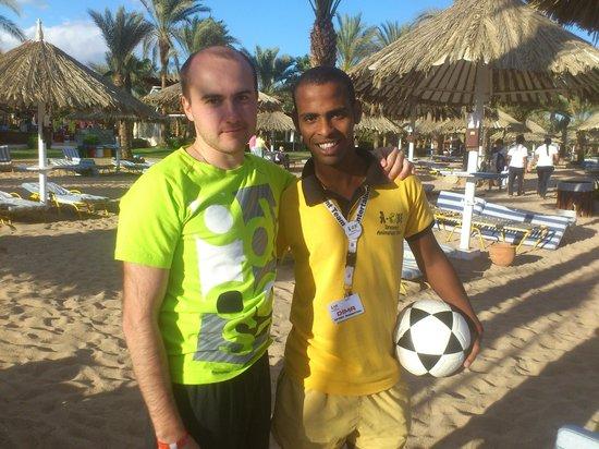 Hilton Sharm Dreams Resort : Спортаниматор пляжа