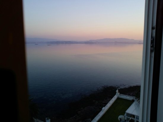 Talaso Hotel Louxo la Toja: view from the room, sunset