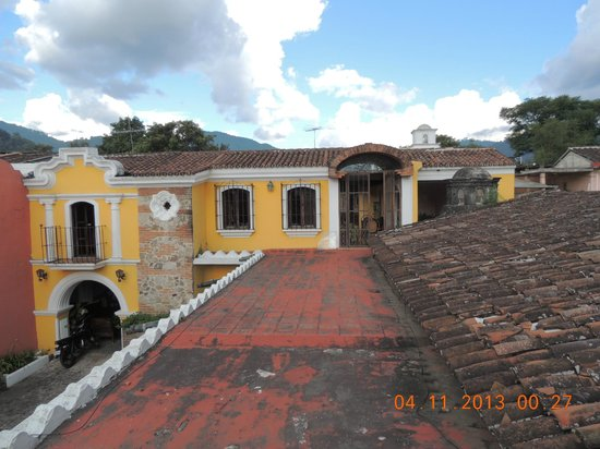 Hotel Posada San Pedro: Posada San Pedro - terrace on roof