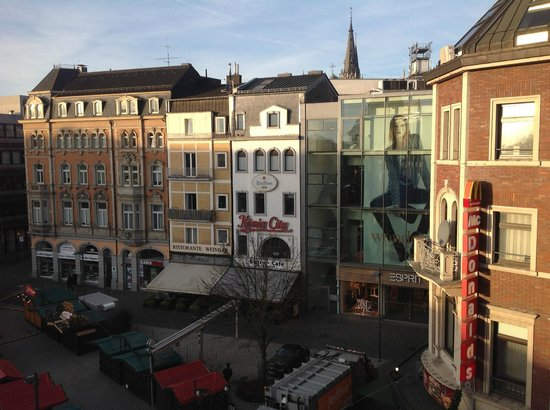 Mercure Hotel Aachen am Dom: View from the rear bedrooms