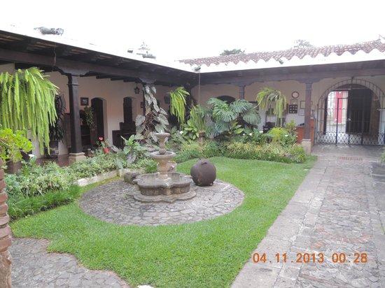 Hotel Posada San Pedro: Posada San Pedro - patio