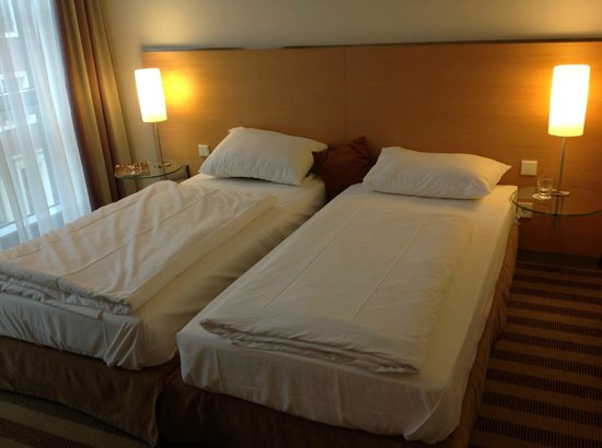 Mercure Hotel Aachen am Dom: Confortable beds