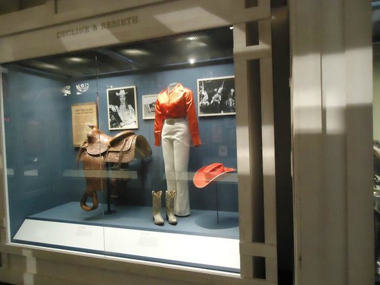 National Cowboy & Western Heritage Museum: an exhibit of Rodeo and Cowgirl clothing and accessories.