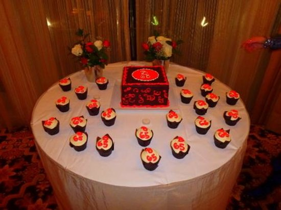 The Roosevelt New Orleans A Waldorf Astoria Hotel Birthday Cake And Cupcakes