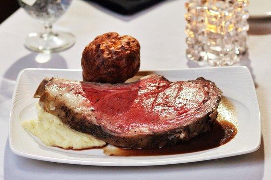 Palmers Restaurant: Prime Rib 3-Course Special on Sundays & Mondays $29.95