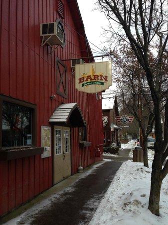The Barn Restaurant: New sign