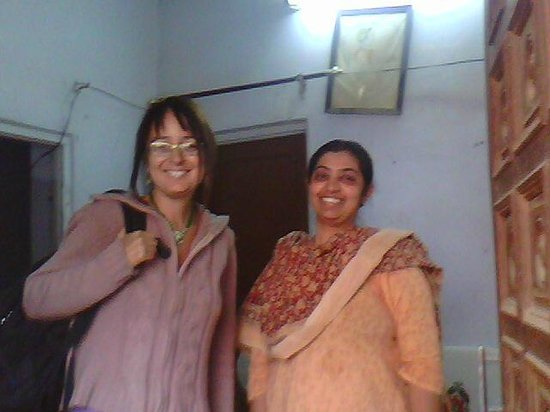 Mk Paying Guest House Jaipur : Guest with owner
