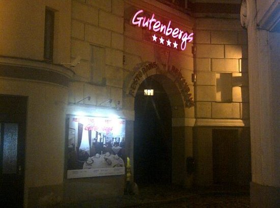 Hotel Gutenbergs: Entry
