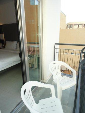 Hotel Valentina: terrasse