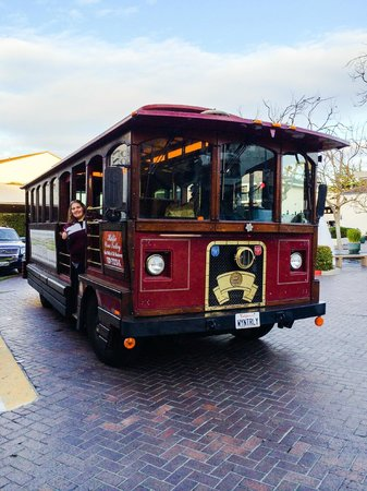 Wine Trolley Tours: Me on the Trolley