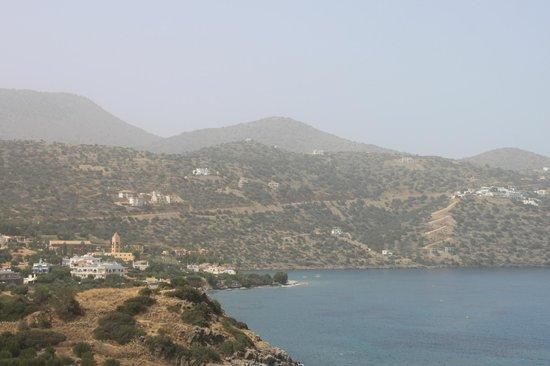 Mirabello Beach & Village Hotel : Вид на бухту Мирабелло