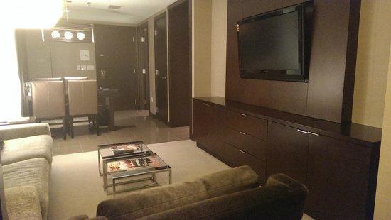 Vdara Hotel & Spa: Salon de la habitación