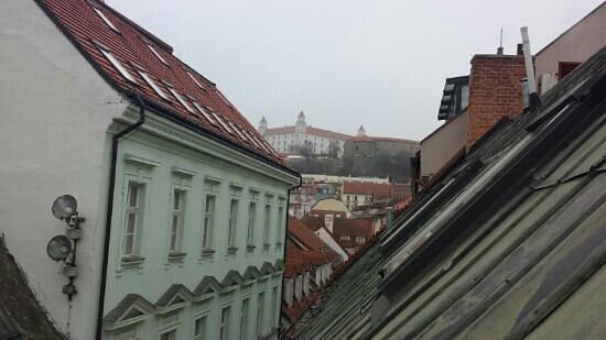 APLEND CITY Hotel Michalska: Blick aus Zimmer 31