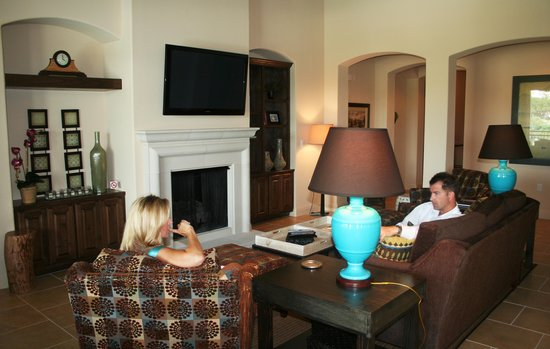 Lakeway Resort and Spa : Living Room