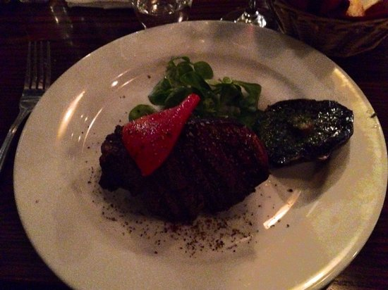 Constancia: One really good steak!