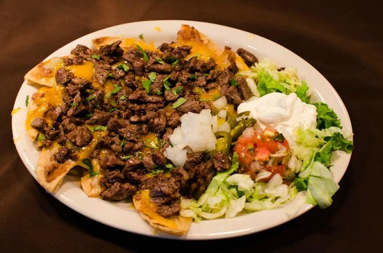 Beef Fajita Nachos at The Garden Grille & Bar South Padre Island