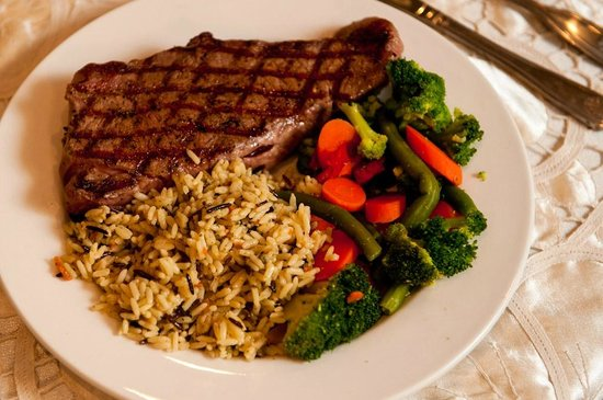 Ribeye Steak at The Garden Grille & Bar South Padre Island