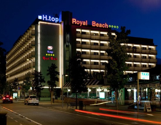 H TOP Royal Beach: Facade