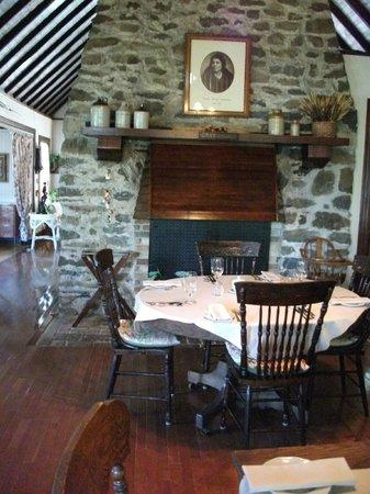 La salle à manger, Auberge Marie Blanc