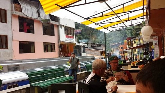Tupana Wasi: View from the outdoor seats