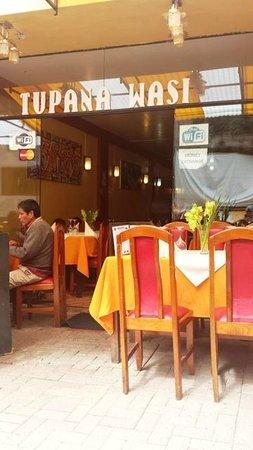 Tupana Wasi: The restaurant in Aguas Calientes