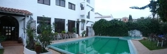 Hacienda Martil : la piscine