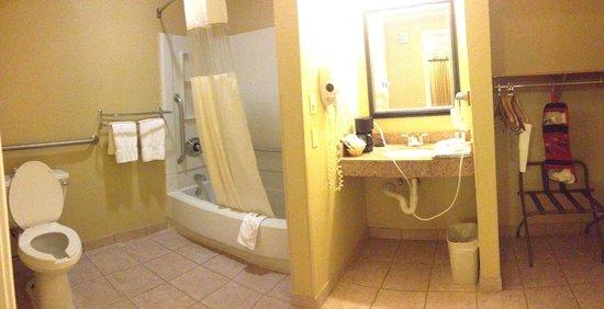 Quality Inn Encinitas Near Legoland: large bathrooms