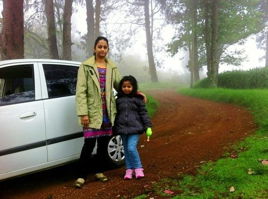 Surya Holidays Kodaikanal : the route