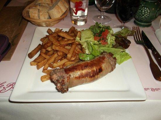 Le Bistroquet : Andouillette, frites le 22 janvier 2013