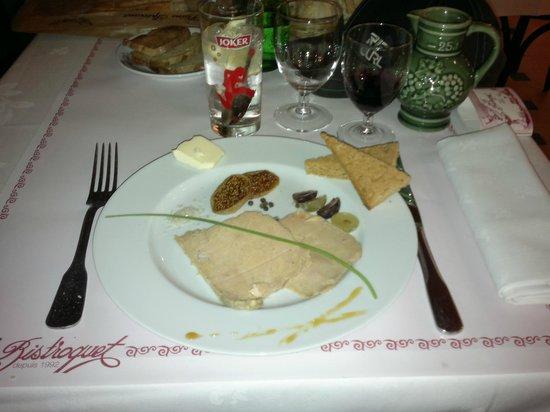 Le Bistroquet : Foie gras le 22 janvier 2013