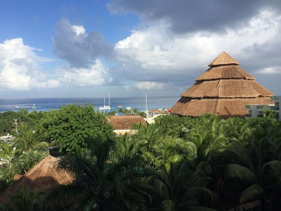 Grand Park Royal Cozumel: View from the 6th floor South Side Main Building